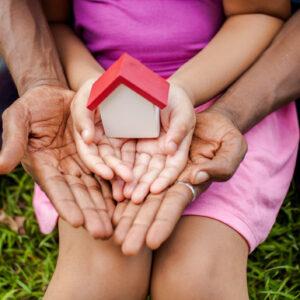 girl holding bird house 1