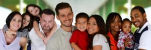 diverse families photo